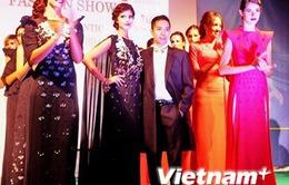 Trình diễn bộ sưu tập mới của hai nhà thiết kế Việt tại Italy