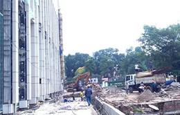 Giám sát thi công nhà Quốc hội đảm bảo an toàn cho khu di sản