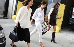 Tuần lễ Thời trang New York: Những bộ cánh nổi bật trên phố
