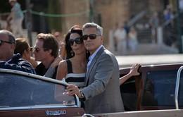 Tài tử George Clooney tích cực chuẩn bị cho đám cưới ở Venice