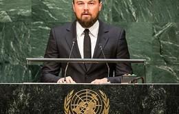 DiCaprio phát biểu về biến đổi khí hậu tại Hội nghị thượng đỉnh LHQ