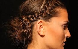 Tóc tết và tóc búi chiếm lĩnh sàn diễn thời trang Thu Đông 2014