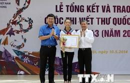 Phát động cuộc thi viết thư quốc tế UPU lần thứ 44 năm 2015