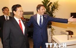 Thủ tướng gặp các nhà lãnh đạo bên lề Hội nghị cấp cao ASEM-10