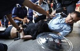 Hong Kong: Xung đột lại xảy ra ở khu vực Mong Kok