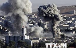 Liên quân tiến hành không kích mỏ dầu ở miền Đông Syria