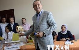 Thủ tướng Thổ Nhĩ Kỳ cam kết hòa giải sau bầu cử tổng thống