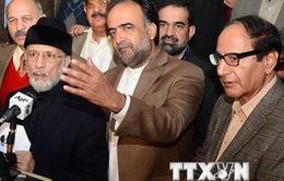 Thủ lĩnh phe đối lập tại Pakistan tuyên bố đàm phán thất bại