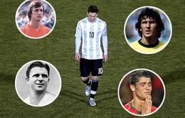 Messi và những tên tuổi vĩ đại vô duyên trong màu áo đội tuyển quốc gia