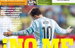 Messi tính chuyện chia tay đội tuyển Argentina