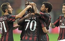 Milan 2-1 Empoli: Bacca và Adriano cùng lập công, Milan có chiến thắng đầu tay