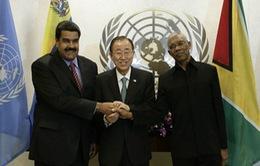 Thỏa thuận giữa Venezuela và Guyana làm hạ nhiệt căng thẳng