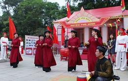 Phú Thọ đưa hát Xoan vào trường học