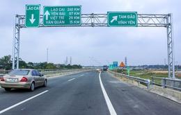 Cơ bản khắc phục xong tình trạng lún cục bộ mặt đường cao tốc Nội Bài - Lào Cai