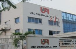 Đình chỉ hoạt động 3 tháng, phạt 280 triệu đồng nhà máy URC Việt Nam
