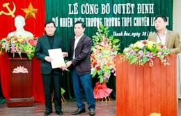 Trường THPT Chuyên Lam Sơn có hiệu trưởng mới