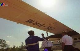 Máy bay Indonesia chở 10 người mất liên lạc tại Sulawesi
