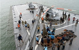 Indonesia: Tìm thấy 4 mảnh vỡ lớn của máy bay AirAsia