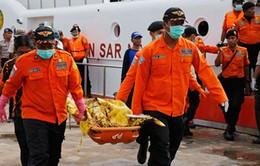 Đã vớt được 6 thi thể hành khách bên trong máy bay QZ8501