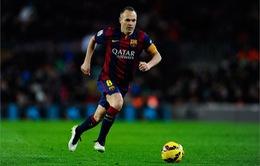 Iniesta được đồng đội bầu làm tân thủ quân Barcelona