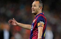 Iniesta: Không bao giờ quên ơn Louis van Gaal