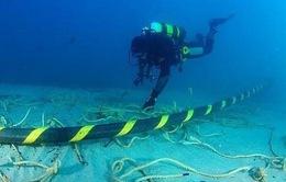 Tuyến cáp quang biển AAG gặp sự cố