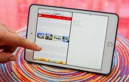 Cận cảnh iOS 9 hoạt động trên iPad mini 4