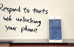2 cách trả lời tin nhắn nhanh với iPhone
