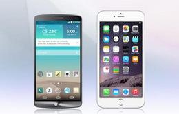 """MWC 2015: iPhone 6 và LG G3 """"đồng hạng"""" smartphone xuất sắc nhất"""