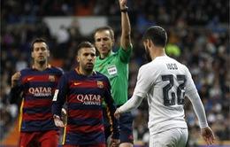 Isco lĩnh án treo giò hai trận sau cú đá vào chân Neymar
