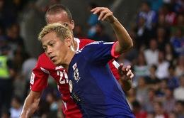 Asian Cup 2015: Honda, Kagawa giữ ngôi đầu cho Nhật Bản