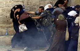 Israel cấm người Palestine vào Thành cổ Jerusalem