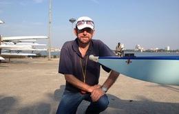 SEA Games 28: HLV Australia đồng hành với ĐT đua thuyền Việt Nam