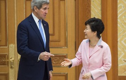Ngoại trưởng Mỹ gặp Tổng thống Hàn Quốc
