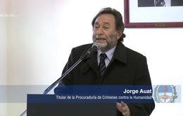 Argentina: Hơn 500 tội phạm bị kết tội chống loài người