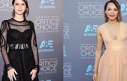 Những bộ váy đẹp nhất trên thảm đỏ Critics' Choice Awards