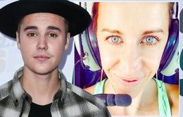 Justin Bieber hết ngốc nghếch nhờ mẹ