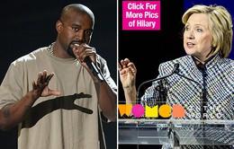 Hillary Clinton không muốn đối đầu với Kanye West