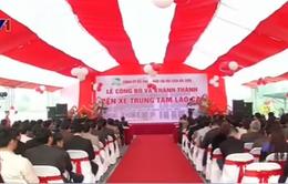 Đưa vào sử dụng Bến xe trung tâm tỉnh Lào Cai