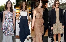 Keira Knightley mê mẩn những thiết kế váy của Chanel