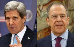Ngoại trưởng Mỹ, Nga điện đàm về tình hình Syria