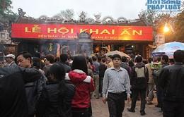 Hàng vạn người về  dự lễ khai ấn Đền Trần