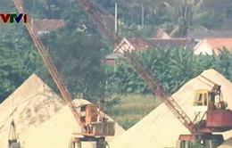Nghệ An: Lỏng lẻo ngăn chặn khai thác cát lậu?