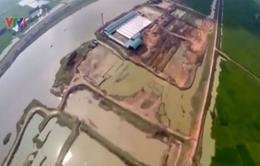 Bắc Giang: Hậu quả của việc khai thác đất làm gạch trái phép
