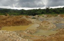 Kon Tum: Môi trường bị hủy hoại do nạn khai thác vàng
