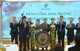 Sàn chứng khoán Hà Nội khai trương giao dịch năm mới 2015