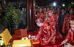 Phát lễ khai ấn Đền Trần tại 4 điểm