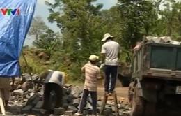 Nhức nhối nạn khai thác đá trái phép ở Đồng Nai