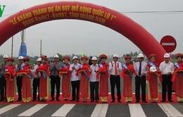 Khánh thành Dự án mở rộng Quốc lộ 1A qua Quảng Nam