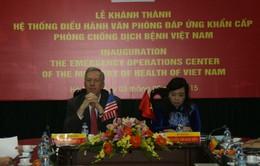 Khánh thành Văn phòng đáp ứng khẩn cấp phòng chống dịch bệnh